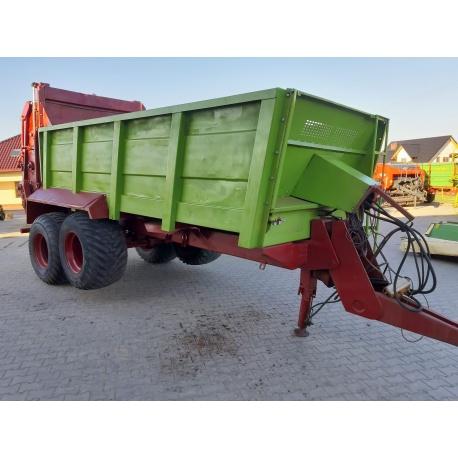 Rozrzutnik obornika Strautmann VS 18 ton Tebbe Kemper