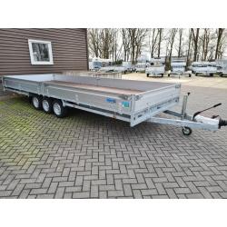 Przyczepa Laweta Hulco Medax 3500 kg 3,5 T 3 osiowa